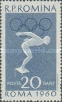 [Olympic Games - Rome, Italy, type BQN]