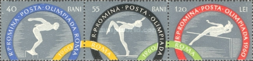 [Olympic Games - Rome, Italy, type BQV]