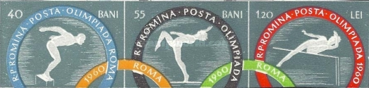 [Olympic Games - Rome, Italy, type BQV1]