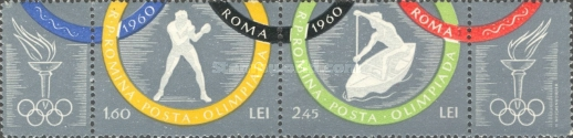 [Olympic Games - Rome, Italy, type BQX]