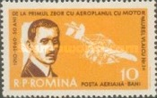 [Airmail. The 50th Anniversary of the First Flight of Aurel Vlaicu(1882-1913), type BRB]