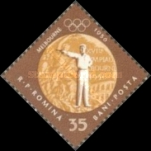 [Olympic Games - Melbourne 1956 & Rome 1960 - Romanian Gold Medal Winners, type BWZ]