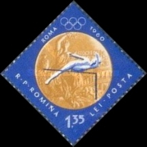 [Olympic Games - Melbourne 1956 & Rome 1960 - Romanian Gold Medal Winners, type BXE]