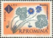 [The 100th Anniversary of the Botanical Garden, Bucharest - Flowers, type BXN]