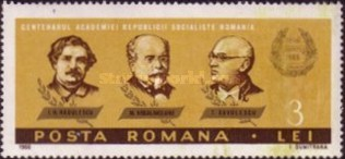 [The 100th Anniversary of the Romanian Academy of Science, type CSK]