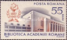 [The 100th Anniversary of the Romanian Academy Library, type CVI]