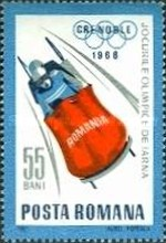 [Olympic Winter Games - Grenoble 1968, France, type CVL]
