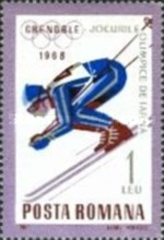 [Olympic Winter Games - Grenoble 1968, France, type CVM]