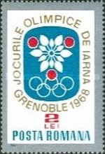 [Olympic Winter Games - Grenoble 1968, France, type CVO]