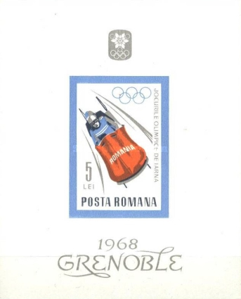 [Olympic Winter Games - Grenoble 1968, France, type CVQ]