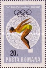 [Olympic Games - Mexico City, Mexico, type CYJ]