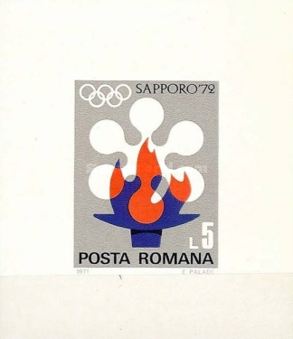 [Winter Olympic Games - Sapporo 1972, Japan, type DJT]