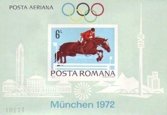 [Airmail - Olympic Games - Munich, Germany, type DKW]
