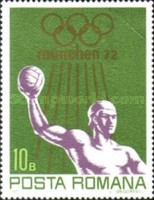 [Olympic Games - Munich, Germany, type DLM]
