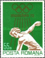 [Olympic Games - Munich, Germany, type DLO]