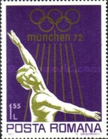 [Olympic Games - Munich, Germany, type DLP]