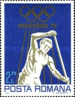 [Olympic Games - Munich, Germany, type DLQ]