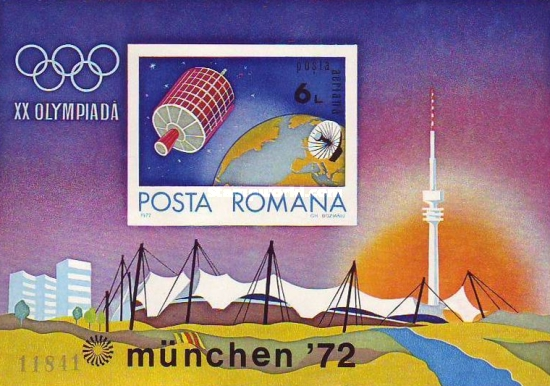 [Airmail - Olympic Games - Munich, Germany, type DLT]