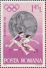 [Olympic Medal Winners - Munich 1972, type DMO]