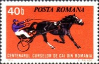 [The 100th Anniversary of Horse Racing in Romania, type DRD]