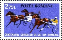 [The 100th Anniversary of Horse Racing in Romania, type DRH]