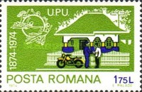 [The 100th Anniversary of the Universal Postal Union (UPU), type DRS]
