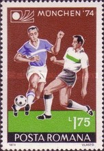 [Football World Cup - West Germany, type DSB]