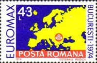 [EUROMAX Exhibition, Bucharest - Map of Europe, type DSO]