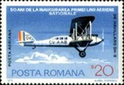 [The 50th Anniversary of the Romanian National Airline, type DXK]