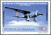[The 50th Anniversary of the Romanian National Airline, type DXL]