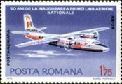 [The 50th Anniversary of the Romanian National Airline, type DXN]