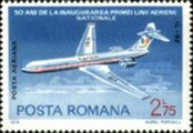 [The 50th Anniversary of the Romanian National Airline, type DXO]
