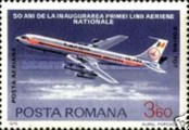 [The 50th Anniversary of the Romanian National Airline, type DXP]