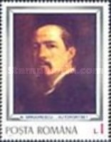[The 70th Anniversary of the Death of Grigorescu, 1838-1907, type DZU]