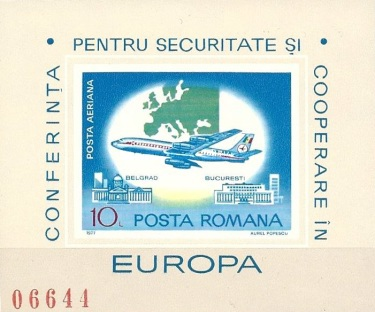 [Airmail - International Conference on Security and Cooperation in Europe, Belgrade, type EBC]