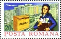 [Airmail - Post Delivery, type EBD]
