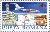 [Airmail - Post Delivery, type EBE]