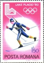 [Winter Olympic Games - Lake Placid 1980, USA, type FCB]