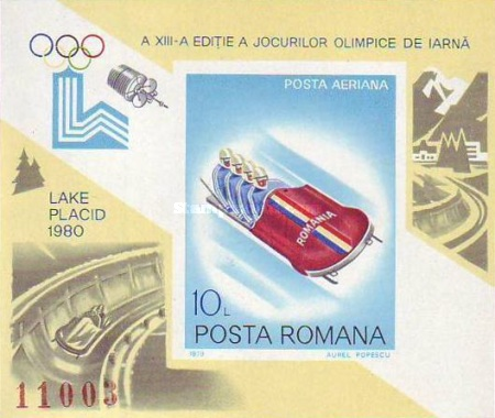 [Winter Olympic Games - Lake Placid 1980, USA, type FCG]