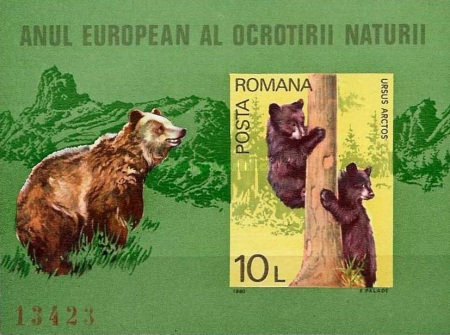 [European Nature Conservation Year, type FDT]
