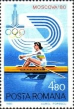 [Olympic Games - Moscow, USSR, type FET]
