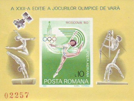 [Olympic Games - Moscow, USSR, type FEV]