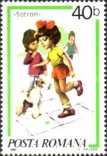 [Children`s Games - Paintings by Norman Rockwell, 1894-1975, type FIH]