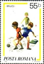 [Children`s Games - Paintings by Norman Rockwell, 1894-1975, type FII]