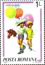 [Children`s Games - Paintings by Norman Rockwell, 1894-1975, type FIJ]