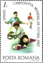 [Football World Cup - Spain 1982, type FIQ]