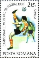 [Football World Cup - Spain 1982, type FIS]