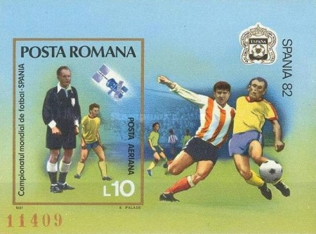 [Football World Cup - Spain 1982, type FIW]