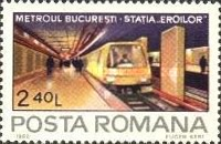 [Opening of the Bucharest Subway, type FJB]