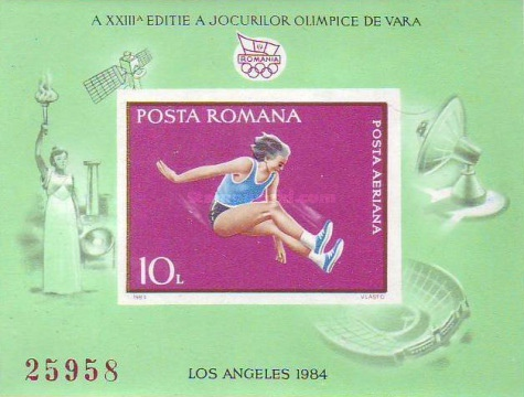[Olympic Games - Los Angeles, USA, type FRJ]